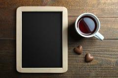 Καραμέλες φλιτζανιών του καφέ και σοκολάτας Στοκ φωτογραφία με δικαίωμα ελεύθερης χρήσης