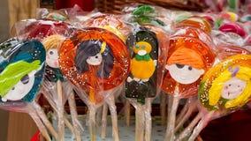 Καραμέλα ή lollipop τέχνες Στοκ φωτογραφία με δικαίωμα ελεύθερης χρήσης