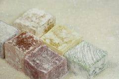Καραμέλα, ζελατίνα, ασιατικά γλυκά, ζάχαρη, επιδόρπιο στοκ εικόνες