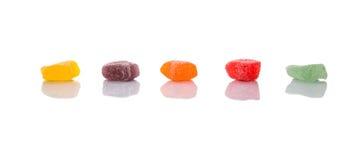 Καραμέλα ΙΙ ζελατίνας ζάχαρης στοκ εικόνες