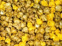 Καραμέλα μια Popcorn chesses κινηματογράφηση σε πρώτο πλάνο Στοκ εικόνες με δικαίωμα ελεύθερης χρήσης