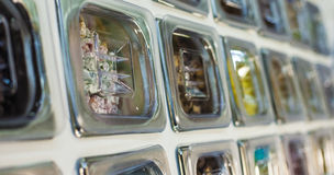 Καραμέλα στα εμπορευματοκιβώτια Στοκ Εικόνα