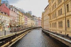Καραμέλα-χρωματισμένα κτήρια Στοκ Φωτογραφίες