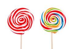 Καραμέλα Lollipop στο ραβδί στοκ φωτογραφία