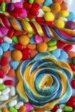 καραμέλες ζωηρόχρωμες Στοκ φωτογραφία με δικαίωμα ελεύθερης χρήσης