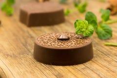 Καραμέλες και μέντα σοκολάτας πολυτέλειας Στοκ φωτογραφίες με δικαίωμα ελεύθερης χρήσης