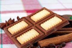 Καραμέλες και σοκολάτες στοκ εικόνα