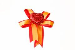 Καραμέλες καρδιών σοκολάτας Στοκ Εικόνες