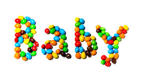 καραμέλες που χρωματίζονται Στοκ εικόνα με δικαίωμα ελεύθερης χρήσης