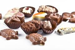 Καραμέλες σοκολάτας στοκ εικόνες