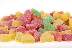 Καραμέλες φρούτων ζελατίνας Στοκ Εικόνα