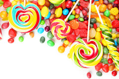 Καραμέλες φρούτων στοκ φωτογραφίες με δικαίωμα ελεύθερης χρήσης