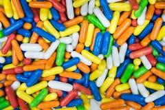 Καραμέλες Colorfur Στοκ φωτογραφίες με δικαίωμα ελεύθερης χρήσης
