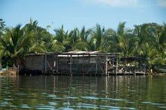 Καραϊβικά εγχώρια bocas del toro προκυμαιών στοκ εικόνες με δικαίωμα ελεύθερης χρήσης