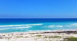 Καραϊβικές Θάλασσες σε playacar Στοκ φωτογραφία με δικαίωμα ελεύθερης χρήσης