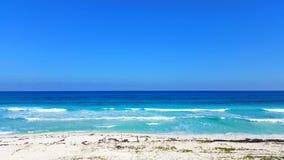 Καραϊβικές Θάλασσες σε playacar Στοκ φωτογραφίες με δικαίωμα ελεύθερης χρήσης