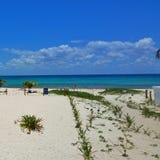 Καραϊβικές Θάλασσες σε playacar Στοκ Εικόνα