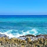 Καραϊβικές Θάλασσες σε playacar Στοκ Εικόνες