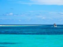 καραϊβική βραδύτατη θάλασ&si Στοκ φωτογραφίες με δικαίωμα ελεύθερης χρήσης