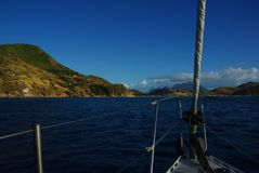 καραϊβική ναυσιπλοΐα Στοκ φωτογραφία με δικαίωμα ελεύθερης χρήσης