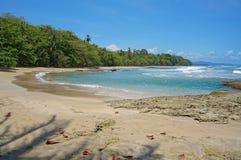 Καραϊβική παραλία της Κόστα Ρίκα στοκ εικόνες