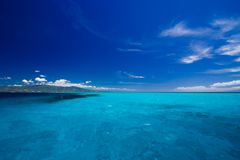 καραϊβική όψη θάλασσας παραδείσου Στοκ φωτογραφία με δικαίωμα ελεύθερης χρήσης