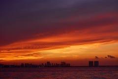 καραϊβικό ηλιοβασίλεμα &the στοκ εικόνες με δικαίωμα ελεύθερης χρήσης