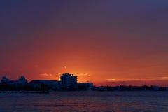 καραϊβικό ηλιοβασίλεμα &the στοκ εικόνα με δικαίωμα ελεύθερης χρήσης