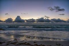καραϊβικό ηλιοβασίλεμα &the στοκ φωτογραφία