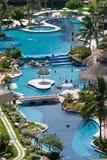 καραϊβικό θέρετρο ξενοδ&omicro Στοκ φωτογραφία με δικαίωμα ελεύθερης χρήσης