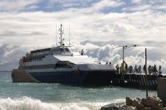 καραϊβικό waterjet κρουαζιέρας 2 Στοκ φωτογραφία με δικαίωμα ελεύθερης χρήσης