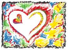 καρδιά έννοιάς μου εσείς Στοκ φωτογραφία με δικαίωμα ελεύθερης χρήσης