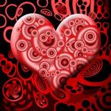 καρδιά αίματος Στοκ Φωτογραφία