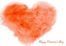 Καρδιά αγάπης, κάρτα ημέρας βαλεντίνων ` s Στοκ φωτογραφία με δικαίωμα ελεύθερης χρήσης