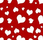 καρδιά ανασκόπησης άνευ ραφής Στοκ Εικόνες