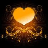 καρδιά ανασκόπησης περίκ&omicro διανυσματική απεικόνιση