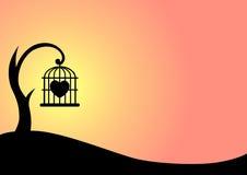 καρδιά ανασκόπησης Ελεύθερη απεικόνιση δικαιώματος