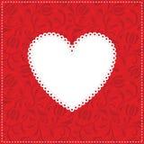 καρδιά ανασκόπησης Στοκ εικόνα με δικαίωμα ελεύθερης χρήσης