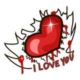 Καρδιά από την επιστολή απεικόνιση αποθεμάτων