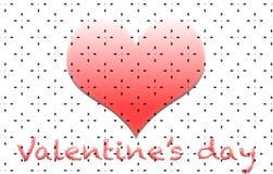 Καρδιά Βαλεντίνοι Αγάπη διακοπές πρότυπο απεικόνιση αποθεμάτων