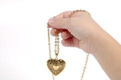 καρδιά γοητείας στοκ εικόνα με δικαίωμα ελεύθερης χρήσης