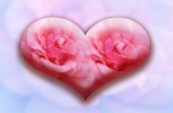 καρδιά γυαλιού μεγάλη Στοκ φωτογραφία με δικαίωμα ελεύθερης χρήσης
