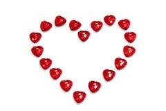 καρδιά διαμαντιών Στοκ Εικόνα