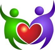 καρδιά ζευγών απεικόνιση αποθεμάτων