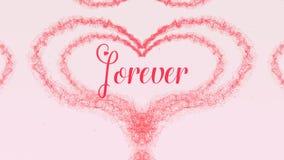 Καρδιά ημέρας βαλεντίνου φιαγμένη από παφλασμό κόκκινου κρασιού που απομονώνεται στο ανοικτό ροζ υπόβαθρο Για πάντα μαζί αγάπη με στοκ εικόνα με δικαίωμα ελεύθερης χρήσης