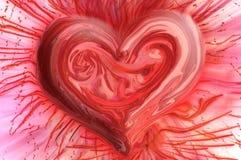 καρδιά η πιό εμπαθήη Στοκ Εικόνα