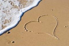 καρδιά θανάτου Στοκ εικόνες με δικαίωμα ελεύθερης χρήσης