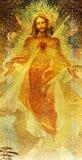 καρδιά Ιησούς ιερός Στοκ φωτογραφίες με δικαίωμα ελεύθερης χρήσης