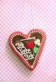καρδιά ι μελοψωμάτων αγάπη  Στοκ εικόνα με δικαίωμα ελεύθερης χρήσης