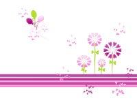 καρδιά λουλουδιών Στοκ φωτογραφία με δικαίωμα ελεύθερης χρήσης